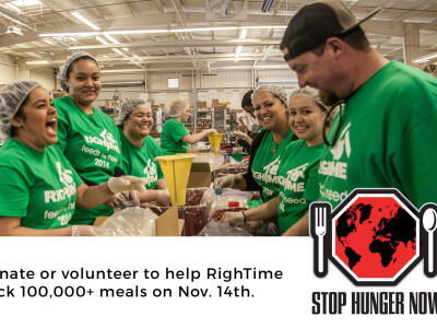 Help Us Pack 100,000+ Meals on November 14th