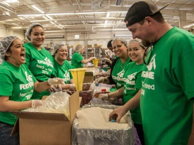 RighTime Home Services Partners with Stop Hunger Now to Package One Hundred Thousand Meals